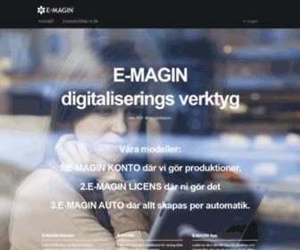 E-magin.se - E-magin - digitalisera dina tryckta publikationer