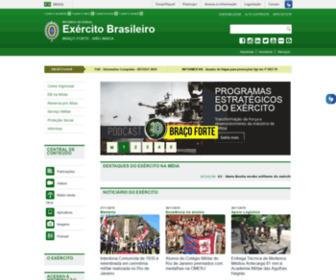 Eb.mil.br - O Exército - Exército Brasileiro