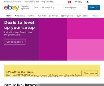 Ebay.ca - Electronics, Cars, Fashion, Collectibles, Coupons and More | eBay