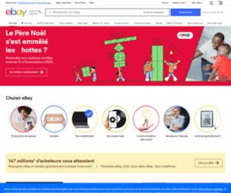 Ebay.fr - Produits électroniques, Voitures, Vêtements, Objets de collection, Bons d'achat et autres achats en ligne | eBay