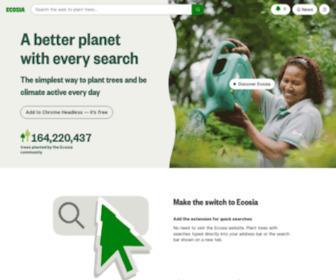 Ecosia.org - Ecosia - the search engine that plants trees