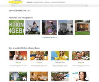 Edingershops.de - edingershops.de   Shopportal der edinger Fachmarkt GmbH -