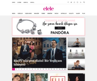 Elele.com.tr - Kadına Dair Her şey Bağımsız Kadının Hayat Rehberi ELELE'de