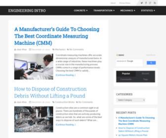Engineeringintro.com - Introduction to Civil Engineering