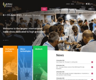 Ephj.ch - Homepage en - ephj