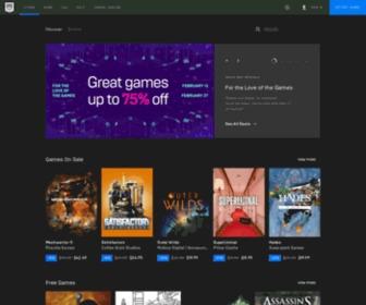 Epicgames.com - Epic Games | Home