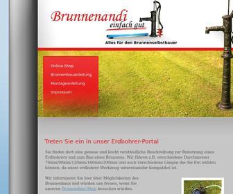 Erdbohrer-brunnen.de - Brunnen bauen??? Informationen zum Brunnenbau