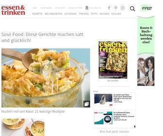 Essen-und-trinken.de - Rezepte: Kochen, Backen und Getränke - [ESSEN & TRINKEN]