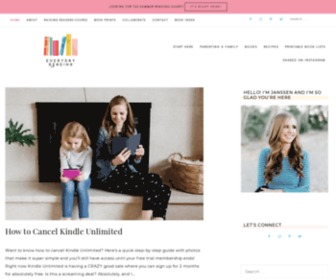 Everyday-reading.com - Everyday Reading - Modern family living for book-loving parents