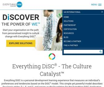 Everythingdisc.com - Personality DiSC Assessment   Everything DiSC