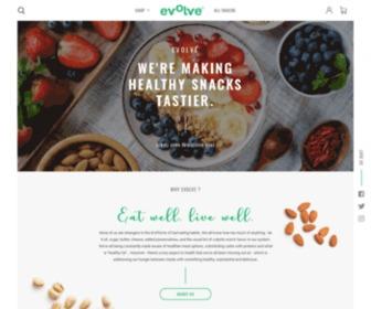 Evolvesnacks.com - Healthy Snacks Online | Evolve Snacks