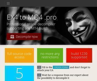 Ex4tomq4 Ex4tomq4 Pro Ex4 To Mq4 Decompiler 2020 Mt4 Build