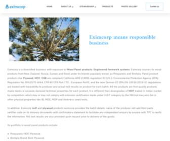 Eximcorp.co.in - Eximcorp India Pvt Ltd - Medium Density Fiber Board