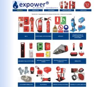 Expower.es - Extintores de incendios, bie's, puertas RF cortafuegos y material de seguridad.