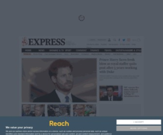 Express.co.uk - Latest UK and World News, Sport and Comment | Express.co.uk