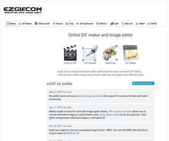 Animated Gif Editor And Gif Maker Ezgif Com At Statscrop