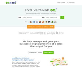 Ezlocal.com - Local Business Search Made EZ - EZlocal.com