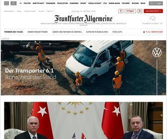 Faz.net - Aktuelle Nachrichten online - FAZ.NET