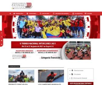 Fedepatin.org.co - FEDERACIÓN COLOMBIANA DE PATINAJE (FEDEPATIN)