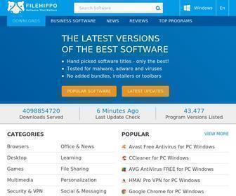Filehippo.com - FileHippo.com - Download Free Software