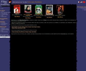 Films-sans-frontieres.fr - Films Sans Frontières - Distribution de films, Edition de vidéos DVD, Films à l'affiche et salles de cinéma...