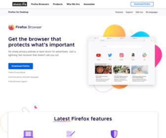 Firefox.com - Mozilla Firefox Web Browser — Free Download