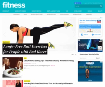 Fitnessmagazine.com - Fitness Magazine: Weight-loss plans, video workouts, abs exercises, diet plans, beauty tricks, and health advice