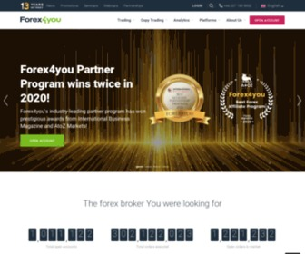 Forex4you.in - Forex4you - excellent forex trading conditions