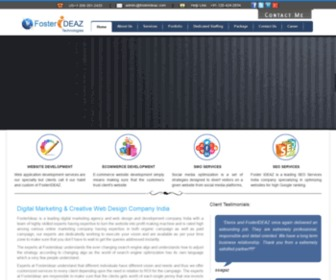 Fosterideaz.com - Digital Agency -Web Design & Website Development Company in India