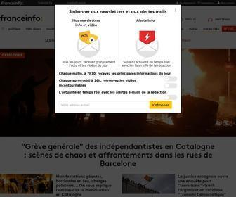 Francetvinfo.fr - Franceinfo - Actualités en temps réel et info en direct