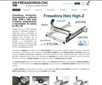 "Fresadoras-cnc.com - Fresadoras CNC - ""El control numérico sencillo"""