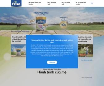 Friso.com.vn - Cùng bé yêu khôn lớn | Friso Việt Nam