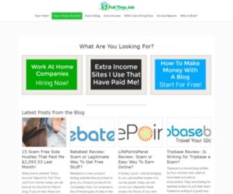 Fulltimejobfromhome.com - Full Time Job From Home: Start Making Money Online