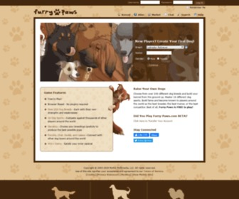 Furry-paws.com - Furry Paws // A Free Virtual Dog Game