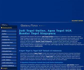 Galaxytoto Judi Togel Online Agen Togel Sgp Bandar Tog At