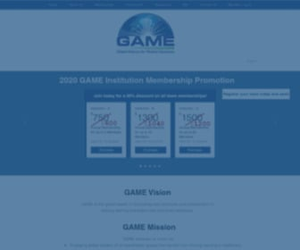 Game-cme.org - Global Alliance for Medical Education - Home