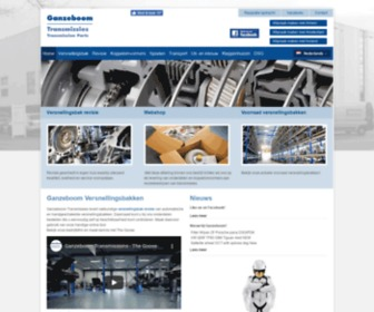 Ganzeboom.net - Ganzeboom: Versnellingsbak revisie & onderdelen