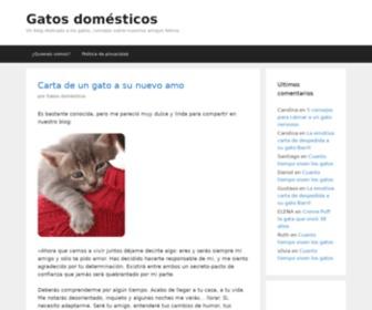 Gatosdomesticos.com - Gatos domésticos - Un blog dedicado a los gatos, consejos sobre nuestros amigos felinos | Gatos domésticos