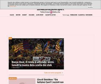 Gazzetta.it - La Gazzetta dello Sport - News in tempo reale di Calcio, Calciomercato, Basket, NBA, F1 e MotoGp