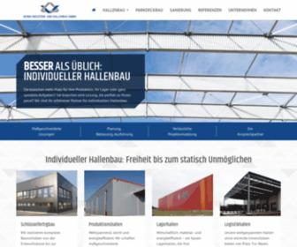 Gerba-hallenbau.com - GERBA Industrie- & Hallenbau GmbH - Ideen aus Stahl