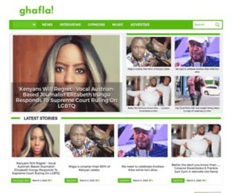Ghafla.com - Ghafla! - Get The Latest Entertainment News From Africa