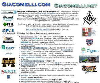 Giacomelli.com - Giacomelli.com - Main