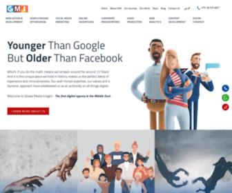Globalmediainsight.com - Dubai Web Design & Development Agency   Digital Marketing Company UAE - GMI