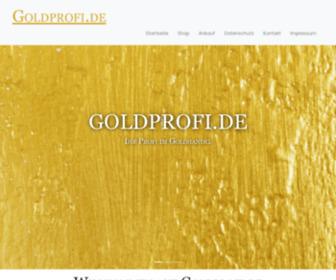 Goldprofi.de - Die GoldProfis - Wir kaufen Ihre Edelmetalle, ihren alten Goldschmuck oder Ihr Tafelsilber zu Spitzenpreisen - Home