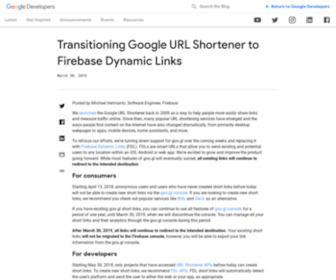 Goo.gl - Google URL Shortener