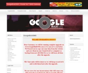 Googlebulksms.com - GoogleBulkSMS