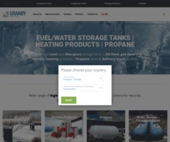 Granbytanks.com - Systèmes de chauffage & réservoirs à huile | Granby Industries