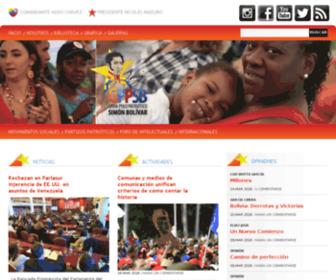 Granpolopatriotico.org.ve - Gran Polo Patriótico. Los que quieran Patria ... ¡Vamos con Chávez!