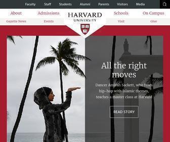Harvard.edu - Harvard University