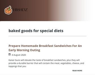 Hbshdz.com - baked goods for special diets
